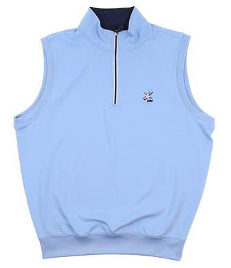 New W/ Logo Mens Fairway & Greene Vest Medium M Blue C11513 MSRP $105