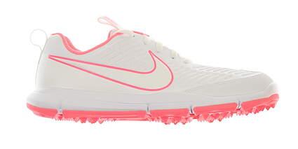 New Womens Golf Shoe Nike Explorer 2 Medium 6.5 White/Pink AA1846 100 MSRP $80
