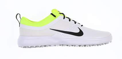 New Womens Golf Shoe Nike Akamai Medium 11 White/Neon Green 818732 102 MSRP $75