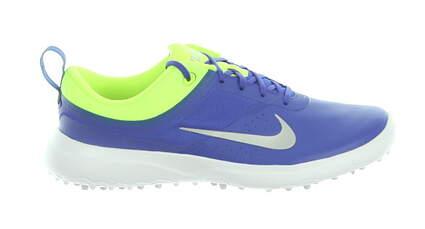 New Womens Golf Shoe Nike Akamai Medium 7 Blue/Silver/Neon Green 818732 401MSRP $75