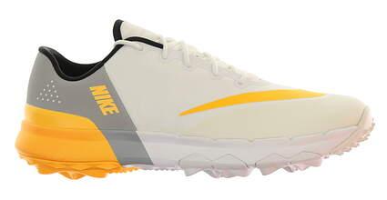 New Womens Golf Shoe Nike FI Flex 6 White/Grey/Laser Orange 849973 102 MSRP $100