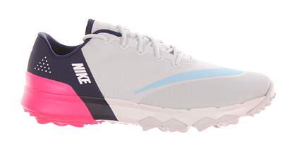 New Womens Golf Shoe Nike FI Flex 6.5 Platinum/Sky/Pink/Navy 849973 001 MSRP $100