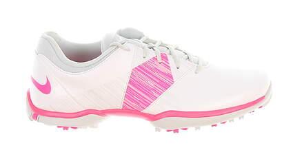 New Womens Golf Shoe Nike Delight V Medium 6.5 White/Pink 651997 102 MSRP $85