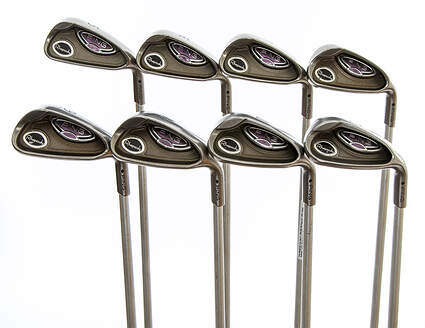 Ping Rhapsody Iron Set 5-PW GW SW Ping ULT 129I Ladies Graphite Ladies Right Handed Black Dot 38.0in