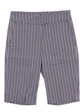 New Womens EP NY Shorts Small S Multi 8410NDAX MSRP $88