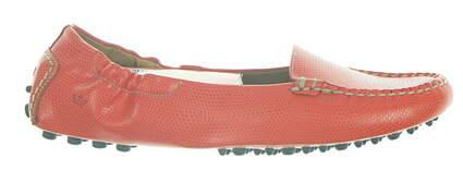 New Womens Peter Millar Loafer 7.5 Red LS18F14 LOB MSRP $198.50