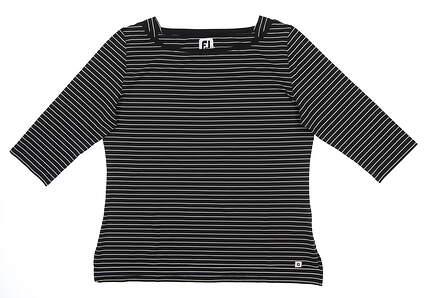 New Womens Footjoy 3/4 Sleeve X-Large XL Black 27392