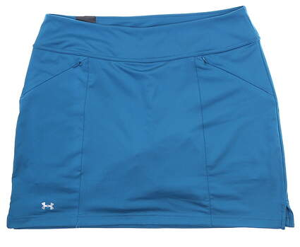New Womens Under Armour Golf Skort Large L Blue UW6662 MSRP $65