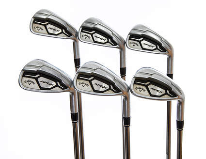 Callaway Apex CF16 Iron Set 5-PW UST Mamiya Recoil 460 F3 Graphite Regular Right Handed -3 Degrees Flat 38.0in