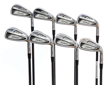 Titleist 714 AP2 Iron Set 4-PW GW Kuro Kage Black Iron 50 Graphite Ladies Right Handed 33.75in