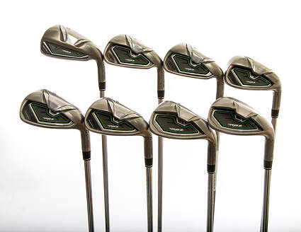 TaylorMade RocketBallz Iron Set 5-PW GW SW TM RBZ Steel Steel Regular Right Handed 38.5in