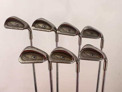 Ping Eye 2 Iron Set 5-PW SW Ping ZZ Lite Steel Stiff Right Handed 38.0in