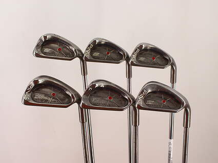Ping ISI Iron Set 5-PW Steel Stiff Right Handed Red dot 38.0in