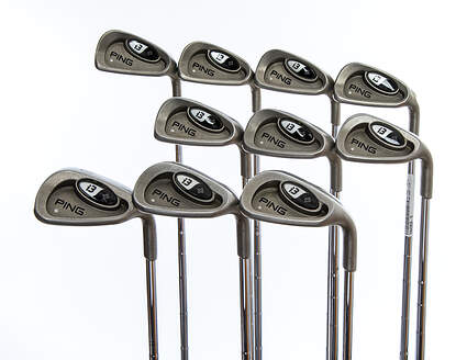 Ping i3 + Iron Set 4-LW True Temper Dynamic Gold S300 Steel Stiff Right Handed Silver Dot 38.75in