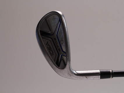 Adams Idea A7 OS Single Iron Pitching Wedge PW Adams ProLaunch Axis Iron Graphite Senior Left Handed 35.0in
