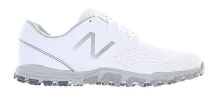 New Womens Golf Shoe New Balance Minimus SL Medium 7 White NBGW1007WT MSRP $85