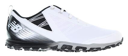 New Mens Golf Shoe New Balance Minimus SL Medium 11.5 White/Black NBG1006WK MSRP $120