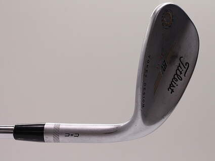Titleist Vokey Spin Milled CC Chrome Wedge Sand SW 56° 11 Deg Bounce Titleist Vokey BV Steel Wedge Flex Right Handed 35.25in