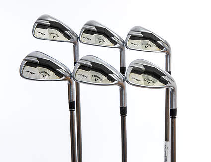 Callaway Apex Iron Set 5-PW UST Mamiya Recoil 660 F3 Graphite Regular Right Handed 38.5in