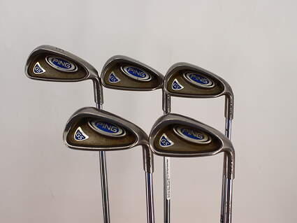 Ping G5 Iron Set 6-PW Ping AWT Steel Stiff Right Handed Black Dot 37.75in