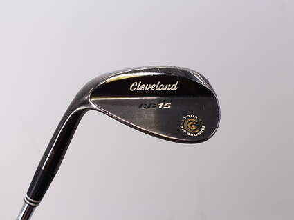 Cleveland CG15 Black Pearl Wedge Sand SW 56° 14 Deg Bounce Cleveland Traction Wedge Steel Wedge Flex Right Handed 36.0in