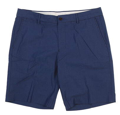 New Mens Footjoy 1857 Stretch Cotton Shorts 34 Blue Chambray 23918 MSRP $125