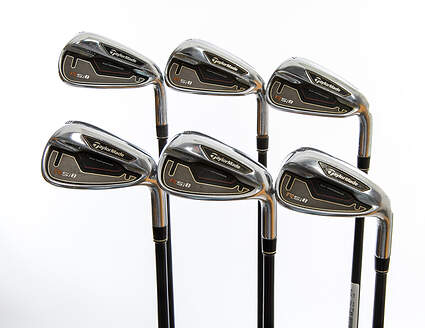TaylorMade RSi 1 Iron Set 5-PW TM Reax 65 Graphite Regular Right Handed 39.5in