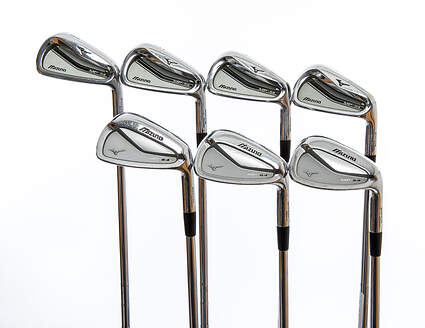 Mizuno MP-54 / MP-64 Combo Iron Set 4-PW FST KBS Tour 120 Stiff Right Handed 38.0in
