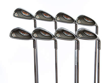 Ping G10 Iron Set 5-PW GW SW Ping AWT Steel Senior Right Handed Red dot 37.75in