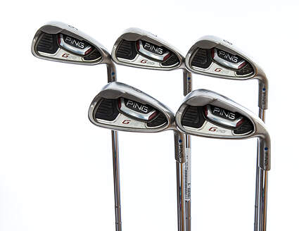 Ping G20 Iron Set 6-PW Ping CFS Steel Stiff Right Handed Blue Dot 37.75in