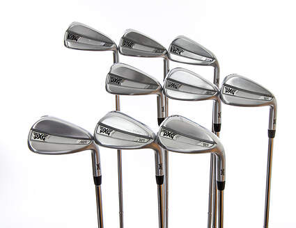 PXG 0211 Iron Set 4-PW GW SW True Temper Elevate Tour Black Steel Stiff Right Handed 38.5in