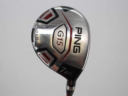Ping G15 Fairway Wood 7 Wood 7W 21.5° Ping TFC 149F Graphite Stiff Right Handed 41.5in