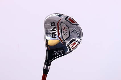 Ping G15 Draw Fairway Wood 3 Wood 3W 15.5° Ping TFC 149F Graphite Regular Left Handed 42.75in