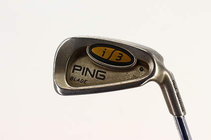 Ping i3 Blade Single Iron 5 Iron Ping JZ Steel Stiff Right Handed Black Dot 37.75in
