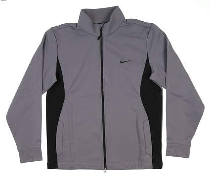 New Mens Nike Therma-Fit Jacket Large L Gray 484248 MSRP $110