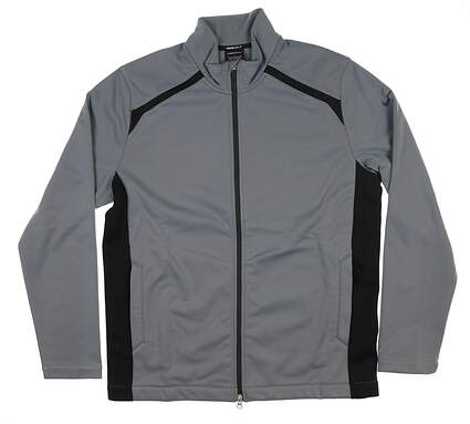 New Mens Nike Therma Fit Jacket Large L Gray 619904 MSRP $110