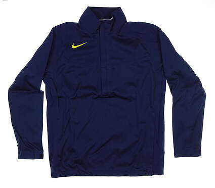 New Mens Nike Storm Fit Rain Jacket Medium M Blue 416276 MSRP $200