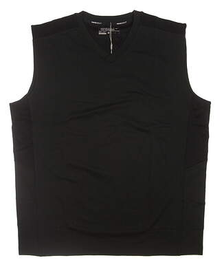 New Mens Nike Golf Vest Large L Black 619824 MSRP $65