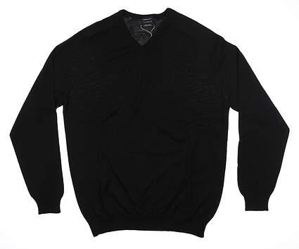 New Mens Nike Sweater Large L Black 425148 MSRP $75