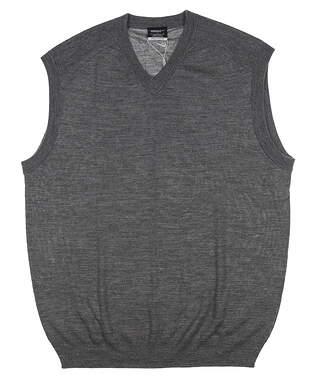 New Mens Nike Sweater Vest Large L Gray 484153 MSRP $60