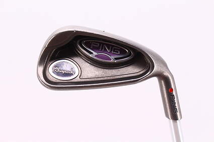 Ping Rhapsody Single Iron 7 Iron Ping ULT 129I Ladies Graphite Ladies Right Handed Red dot 36.25in