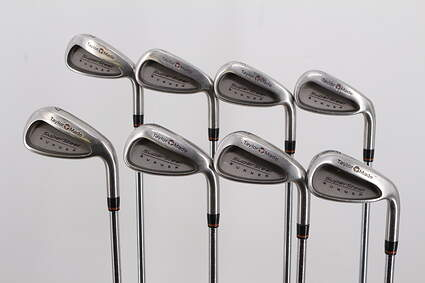 TaylorMade Supersteel Iron Set 3-PW Rifle Prescion Steel Stiff Right Handed 37.25in