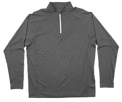 New Mens Sun Mountain Boundary Pullover Large L Gray J80222 MSRP $90