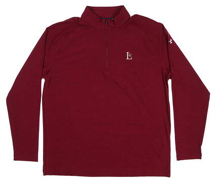 New W/ Logo Mens Under Armour Playoff 1/4 Zip Pullover X-Large XL Maroon UM1278 MSRP $79