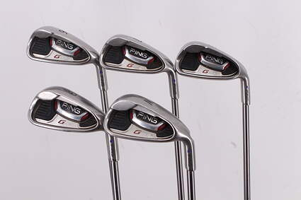 Ping G20 Iron Set 6-PW Ping TFC 169I Graphite Senior Right Handed Purple dot 37.25in