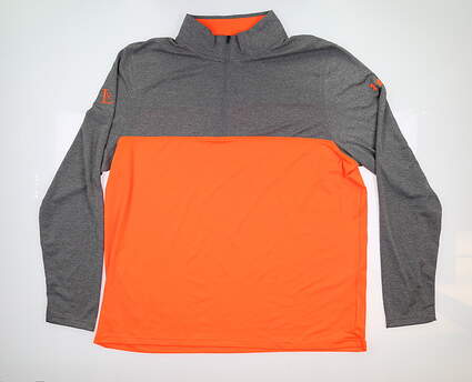 New W/ Logo Mens Under Armour 1/4 Zip Pullover XX-Large XXL Multi UM7182 MSRP $70