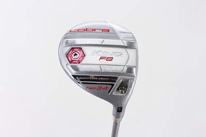 Mint Cobra King F8 Fairway Wood 3-4 Wood 3-4W 18.5° Aldila NV 55 Graphite Ladies Right Handed 42.0in
