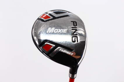 Ping Moxie K 6-7 Year Old Fairway Wood 4 Wood 4W 17° Stock Graphite Shaft Graphite Junior Regular Right Handed 33.0in