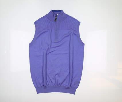 New Mens G-Mac Duncan Sweater Vest Medium M Blue MSRP $96