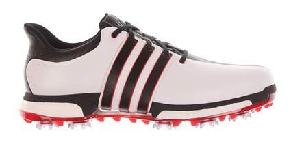 New W/O Box Mens Golf Shoe Adidas Tour 360 Boost 11.5 White/Black F33248